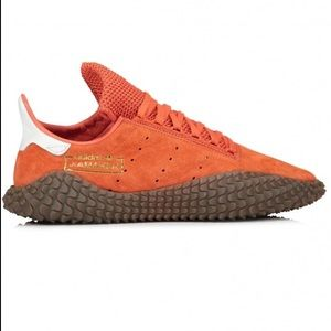 Adidas Kannada 01 Rust Orange Raw Amber Sneaker